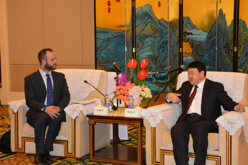 Jake met with the Fujian vice governor